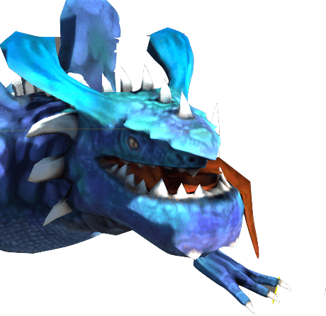 dragon bleu image
